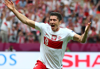 Lewandowski is one of Poland's young stars.