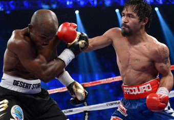 Manny Pacquiao landed harder, landed cleaner and landed more often.  Then how did two judges have him losing?