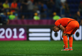 It is hard to blame Robben for the problems the Dutch have.