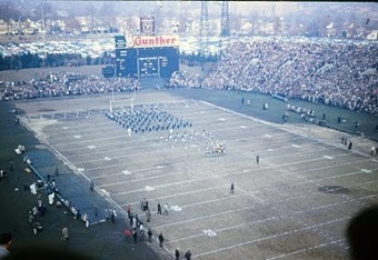 The Colts' old home: The Memorial Stadium