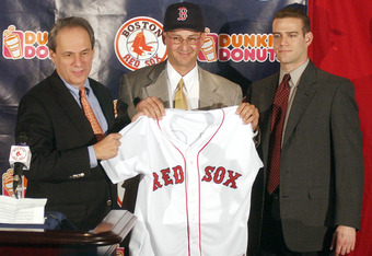 "Epstein will always look back fondly on his days as the ""Boy Wonder"" of the Red Sox."