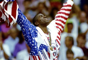Magic was one of the Olympic captains