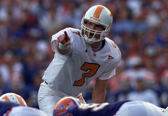 Former Tennessee quarterback Casey Clausen