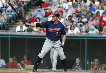 Trevor Plouffe learned something from watching Jim Thome while he was in Minnesota.
