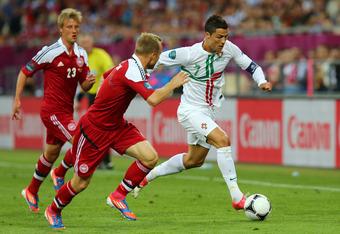 Ronaldo missed on two scoring opportunities against Denmark earlier this week.