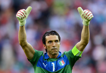 Italy netminder Gianluigi Buffon is now considered one of the world's best goalkeepers