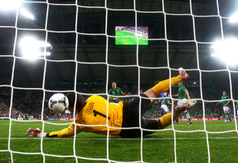 This may be goalkeeper Shay Given's last game for the Republic of Ireland.