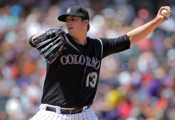Drew Pomeranz has a 3.06 ERA with Triple-A Colorado Springs.