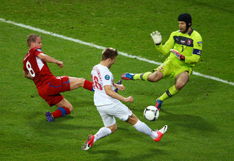Petr Cech will have to be brilliant for the Czech Republic to upset Portugal on Thursday.