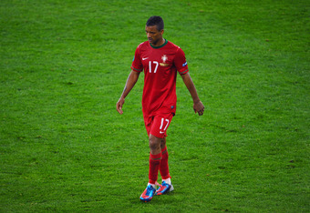 Portugal's Nani will be tough for the Czech Republic to control.