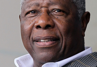 Hank Aaron is one of only three men in Baseball history to rack up over 3,000 hits and 500 home runs and be in the Hall of Fame.