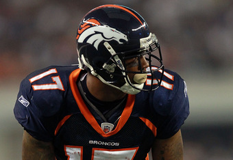 Britt Davis During His Broncos Days