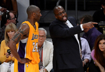 Kobe misses Phil Jackson and new coach Mike Brown had a rough year in his new job.