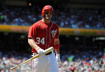 Bryce Harper's .886 OPS is historically good for a 19-year-old.