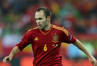 Iniesta is fun to watch because he's an all around talent.