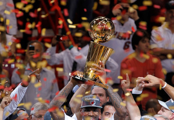 LeBron James won his first NBA title in 2012