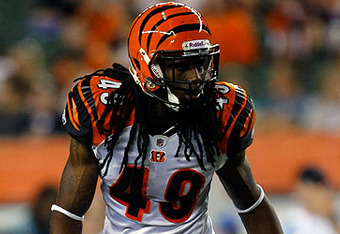 Robert Sands should get more playing time this year, even if he isn't named starter. (Photo: Bengals.com)