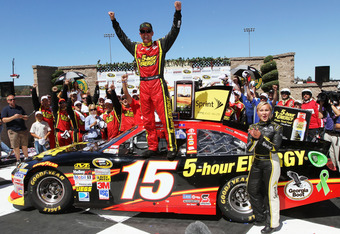 Bowyer won MWR's first race of 2012 at Sonoma