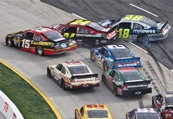 Bowyer almost had a win at Martinsville