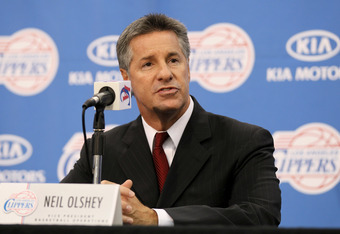 Former Clippers exec Neil Olshey was brought in by the Blazers to rebuild the franchise. He's the fourth GM for the team in the last five seasons.