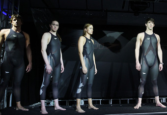 The LZR Racer, Speedo's trademark 2008 suit