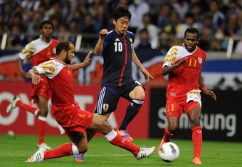 Shinji Kagawa Will Most Likely Play On the Left Wing
