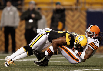 Ryan Clark often gets overlooked because he's position-mates with Troy Polamalu, but he's an effective safety in his own right.