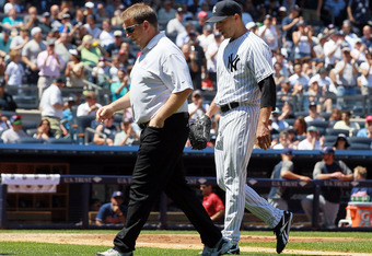 Andy Pettitte's injury leaves the Yankees with a big void in the rotation.