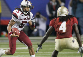 South Carolina and Florida State squared off in the 2010 Chick-Fil-A Bowl