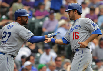 Kemp and Ethier masked the overall mediocrity of the Dodgers' lineup earlier in the season.