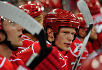 Eric Staal's cast of forwards will be significantly different come next season.