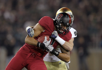 TE Levine Toilolo: TD catch against ND in 2011