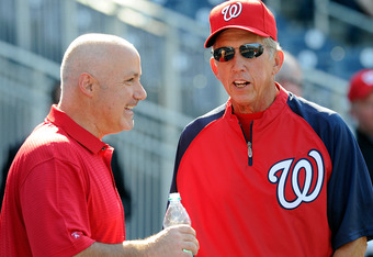 What do Mike Rizzo and Davey Johnson have in mind for their ace starter?