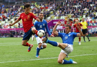 Italy's defense was stupendous against Spain in their prior meeting.