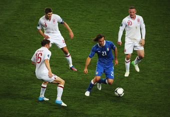 Andrea Pirlo has been unstoppable in Euro 2012.