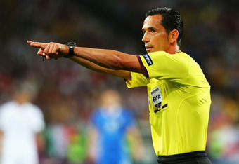 UEFA made the right choice in choosing Proenca to referee this final.