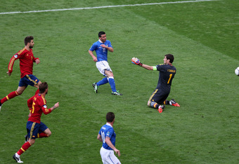Di Natale scored against Casillas in the group stage. Will he do so in the final?