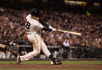 Posey has 10 home runs and 40 RBI this year.