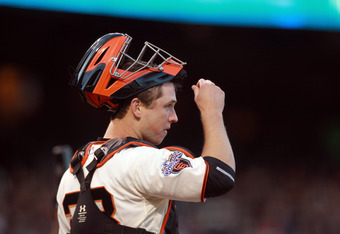 Posey has done an excellent job handling the Giants staff.