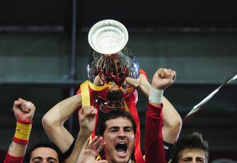 Spain Upon Winning Euro 2012