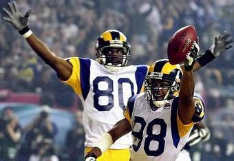 Torry Holt and Isaac Bruce