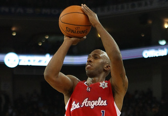 OAKLAND, CA - DECEMBER 25:  Chauncey Billups #1 of the Los Angeles Clippers in action against the Golden State Warriors during the season opener at Oracle Arena on December 25, 2011 in Oakland, California.  NOTE TO USER: User expressly acknowledges and ag