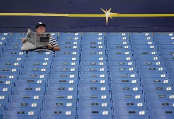 Another packed house at Tropicana Field.
