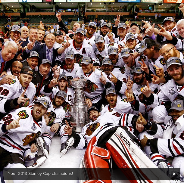Stanley Cup Champions