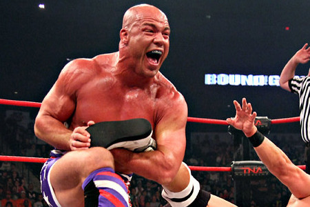 Kurt angle still talking about joining the ufc competing in the olympics bleacher report - Pictures of kurt angle ...