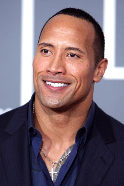 LOS ANGELES, CA - FEBRUARY 08:  Actor and former wrestler Dwayne 'The Rock' Johnson arrives at the 51st Annual Grammy Awards held at the Staples Center on February 8, 2009 in Los Angeles, California.  (Photo by Frazer Harrison/Getty Images)
