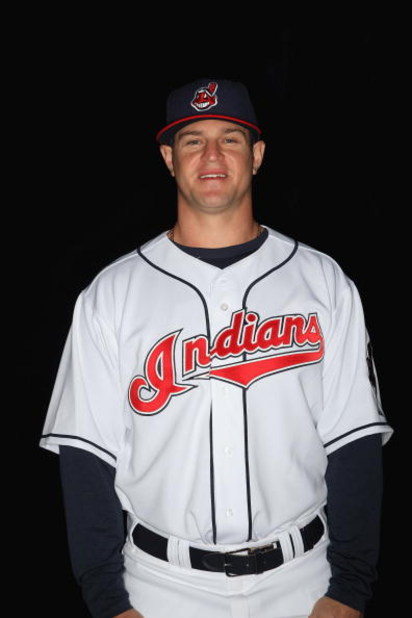 GOODYEAR, AZ - FEBRUARY 21:  Matt LaPorta of the Cleveland Indians poses during photo day at the Indians spring training complex on February 21, 2009 in Goodyear, Arizona. (Photo by Ronald Martinez/Getty Images)