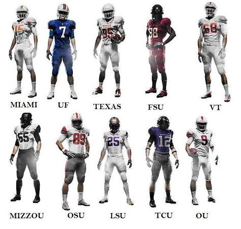 The Best Uniforms of the 2009 College Football Season  e53359a4a
