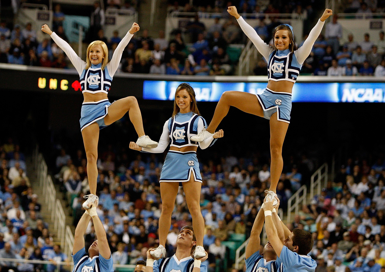 ucla college basketball cheerleader