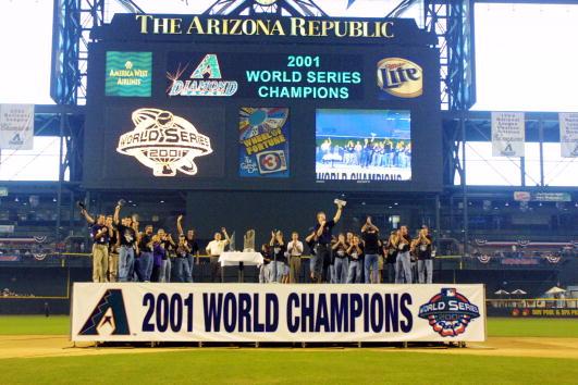 「2001 world series champion」的圖片搜尋結果